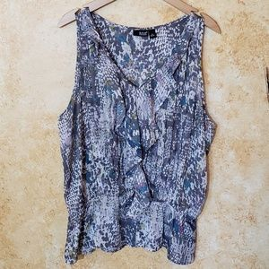 a.n.a sleeveless blouse XL